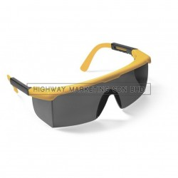 Proguard ES-46YS Yellow Frame Smoke Lens Safety Eyewear