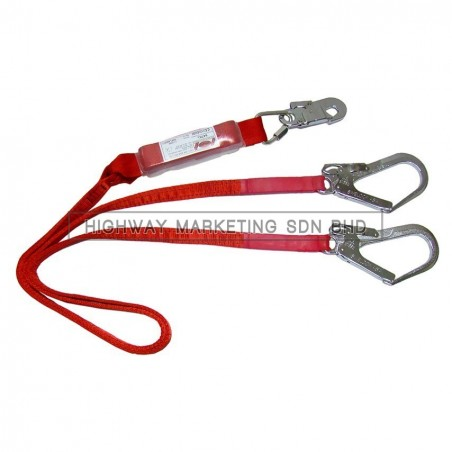 Swelock 647KL Webbing Type Double Lanyard With Absorber