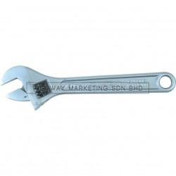 Yamoto Satin Finish Adjustable Wrenches