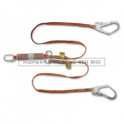 Proguard WL-141068-LOH Twin Webbing Lanyard with Energy Absorber