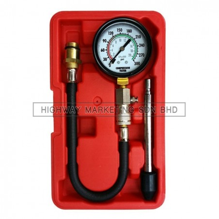 Dynatool DYN-10-3019 Petrol Compression Tester Kit