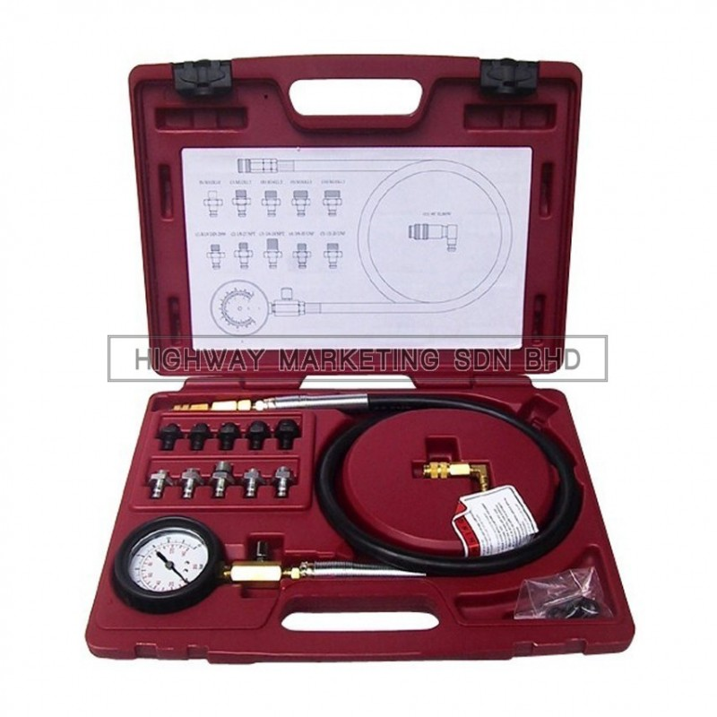 Dynatool DYN-10-3004 Oil Pressure Tester Kit