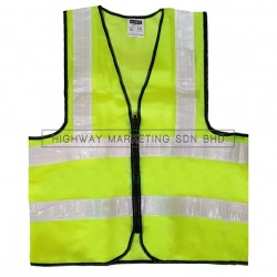 Hi-Safe HSF-40-1400-G High Visibility Safety Waiscoat Vest Green